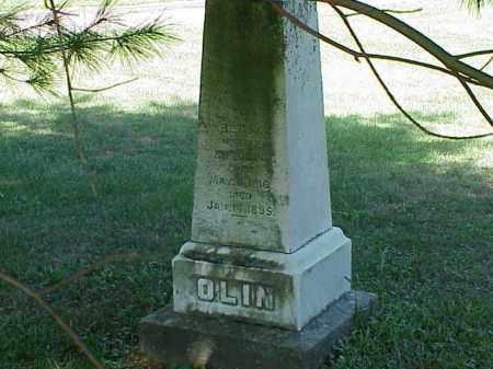 OLIN, BETSY - Richland County, Ohio | BETSY OLIN - Ohio Gravestone Photos