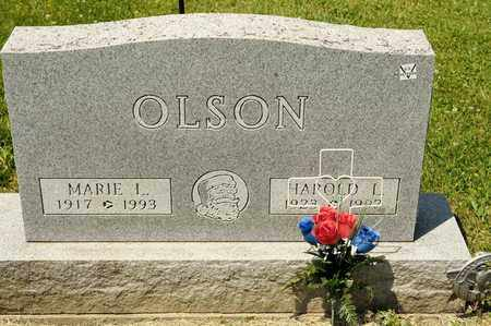 OLSON, HAROLD L - Richland County, Ohio | HAROLD L OLSON - Ohio Gravestone Photos