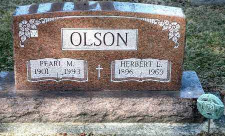 OLSON, PEARL M - Richland County, Ohio | PEARL M OLSON - Ohio Gravestone Photos