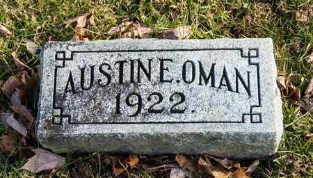 OMAN, AUSTINE E - Richland County, Ohio | AUSTINE E OMAN - Ohio Gravestone Photos