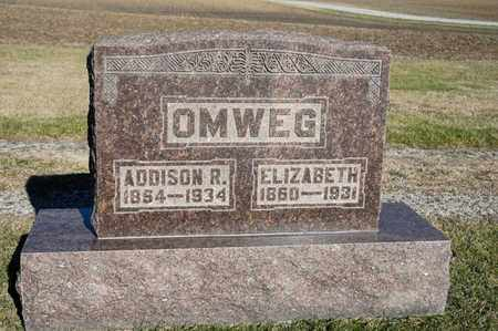 OMWEG, ELIZABETH - Richland County, Ohio | ELIZABETH OMWEG - Ohio Gravestone Photos