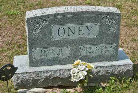 ONEY, ERVIN O - Richland County, Ohio | ERVIN O ONEY - Ohio Gravestone Photos