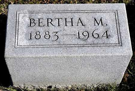 OREWILER, BERTHA M - Richland County, Ohio | BERTHA M OREWILER - Ohio Gravestone Photos