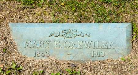 OREWILER, MARY E - Richland County, Ohio | MARY E OREWILER - Ohio Gravestone Photos