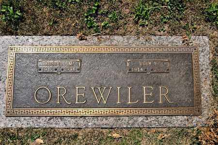 OREWILER, RUBY F - Richland County, Ohio | RUBY F OREWILER - Ohio Gravestone Photos