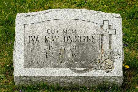OSBORNE, IVA MAY - Richland County, Ohio | IVA MAY OSBORNE - Ohio Gravestone Photos