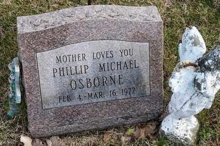 OSBORNE, PHILLIP MICHAEL - Richland County, Ohio | PHILLIP MICHAEL OSBORNE - Ohio Gravestone Photos