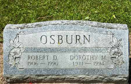 OSBURN, ROBERT D - Richland County, Ohio | ROBERT D OSBURN - Ohio Gravestone Photos
