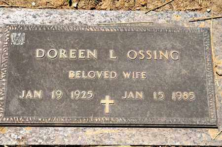 OSSING, DOREEN L - Richland County, Ohio | DOREEN L OSSING - Ohio Gravestone Photos