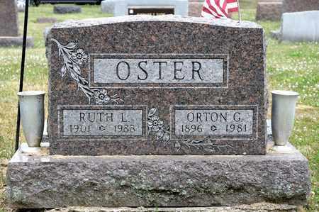 OSTER, ORTON G - Richland County, Ohio | ORTON G OSTER - Ohio Gravestone Photos