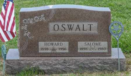 ZIEGLER OSWALT, SALOME - Richland County, Ohio | SALOME ZIEGLER OSWALT - Ohio Gravestone Photos