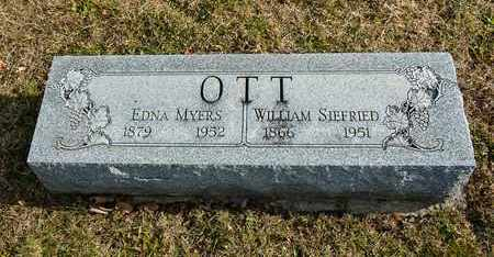 OTT, WILLIAM SIEFRIED - Richland County, Ohio | WILLIAM SIEFRIED OTT - Ohio Gravestone Photos