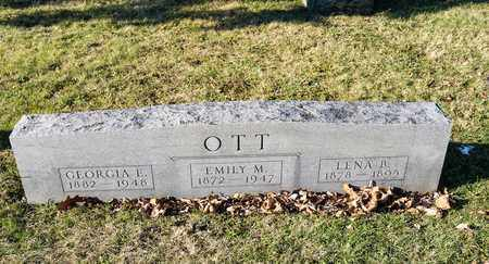 OTT, LENA B - Richland County, Ohio | LENA B OTT - Ohio Gravestone Photos