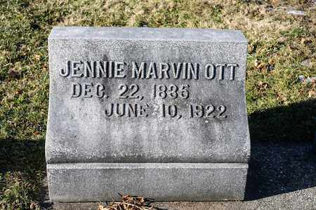 OTT, JENNIE - Richland County, Ohio | JENNIE OTT - Ohio Gravestone Photos