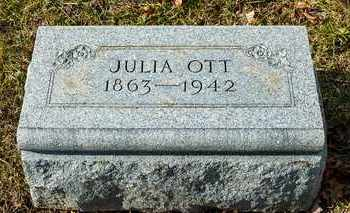 OTT, JULIA - Richland County, Ohio | JULIA OTT - Ohio Gravestone Photos