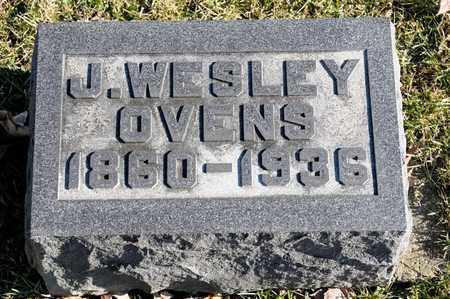 OVENS, J WESLEY - Richland County, Ohio | J WESLEY OVENS - Ohio Gravestone Photos