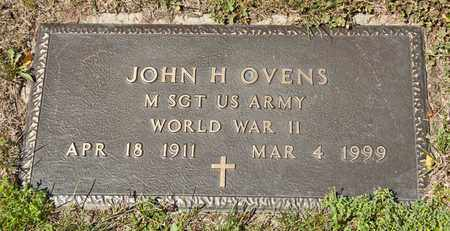 OVENS, JOHN H - Richland County, Ohio | JOHN H OVENS - Ohio Gravestone Photos