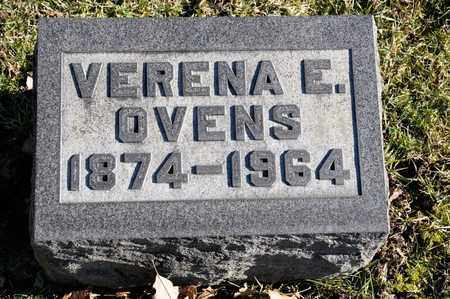 OVENS, VERENA E - Richland County, Ohio | VERENA E OVENS - Ohio Gravestone Photos