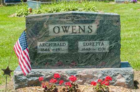 FRANCE OWENS, LORETTA - Richland County, Ohio | LORETTA FRANCE OWENS - Ohio Gravestone Photos