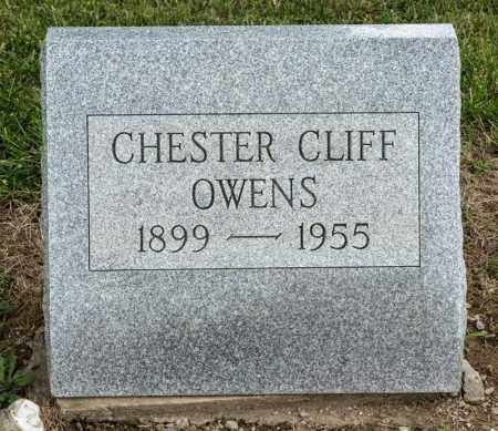 OWENS, CHESTER CLIFF - Richland County, Ohio | CHESTER CLIFF OWENS - Ohio Gravestone Photos