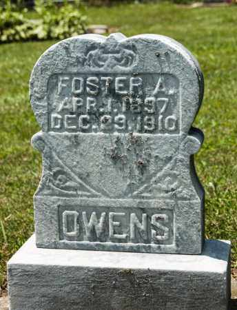OWENS, FOSTER A - Richland County, Ohio | FOSTER A OWENS - Ohio Gravestone Photos