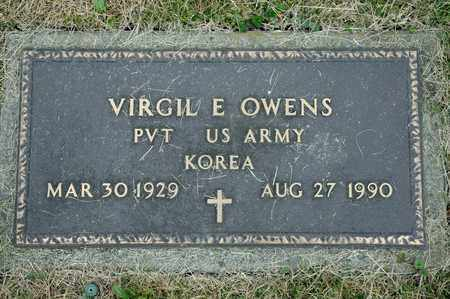 OWENS, VIRGIL E - Richland County, Ohio | VIRGIL E OWENS - Ohio Gravestone Photos