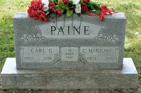 PAINE, CARL G - Richland County, Ohio | CARL G PAINE - Ohio Gravestone Photos