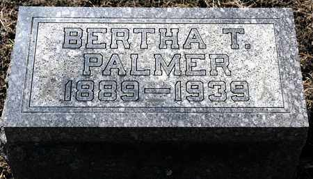 PALMER, BERTHA T - Richland County, Ohio | BERTHA T PALMER - Ohio Gravestone Photos