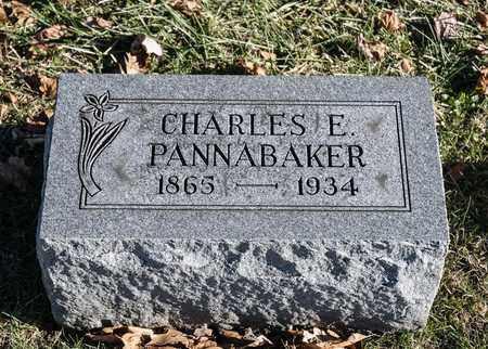 PANNABAKER, CHARLES E - Richland County, Ohio | CHARLES E PANNABAKER - Ohio Gravestone Photos