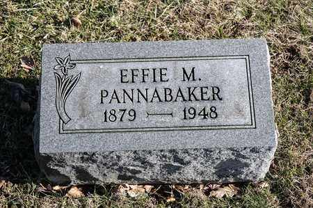 PANNABAKER, EFFIE M - Richland County, Ohio | EFFIE M PANNABAKER - Ohio Gravestone Photos