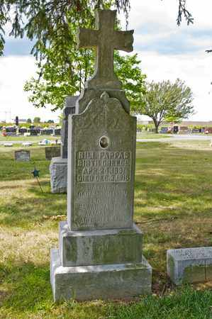 PAPPAS, BILL - Richland County, Ohio | BILL PAPPAS - Ohio Gravestone Photos