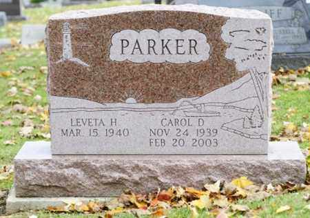 PARKER, CAROL D. - Richland County, Ohio | CAROL D. PARKER - Ohio Gravestone Photos