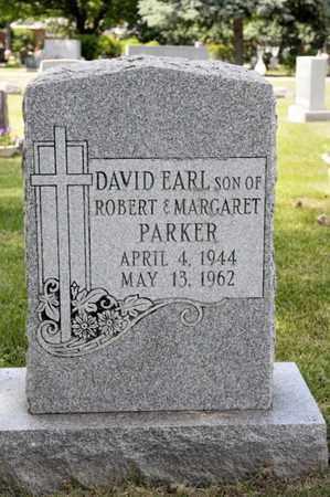 PARKER, DAVID EARL - Richland County, Ohio   DAVID EARL PARKER - Ohio Gravestone Photos