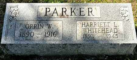 WHIEHEAD PARKER, HARRIETT L - Richland County, Ohio | HARRIETT L WHIEHEAD PARKER - Ohio Gravestone Photos