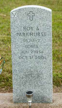 PARKHURST, ROY A - Richland County, Ohio | ROY A PARKHURST - Ohio Gravestone Photos