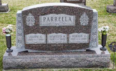 PARRELLA, DONALD J - Richland County, Ohio | DONALD J PARRELLA - Ohio Gravestone Photos