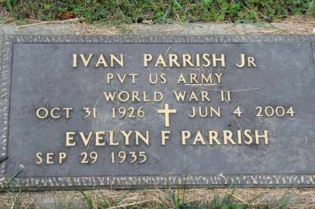 PARRISH JR, IVAN - Richland County, Ohio | IVAN PARRISH JR - Ohio Gravestone Photos