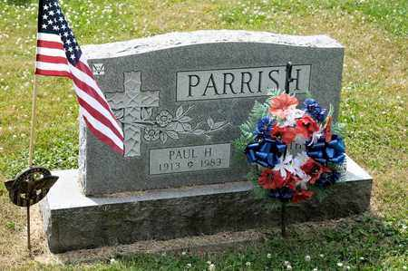 PARRISH, PAUL H - Richland County, Ohio | PAUL H PARRISH - Ohio Gravestone Photos