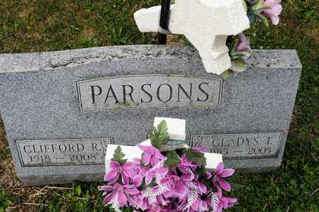 PARSONS, CLIFFORD R - Richland County, Ohio | CLIFFORD R PARSONS - Ohio Gravestone Photos