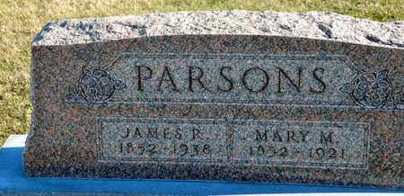 PARSONS, MARY M - Richland County, Ohio | MARY M PARSONS - Ohio Gravestone Photos