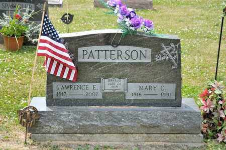 PATTERSON, LAWRENCE E - Richland County, Ohio | LAWRENCE E PATTERSON - Ohio Gravestone Photos