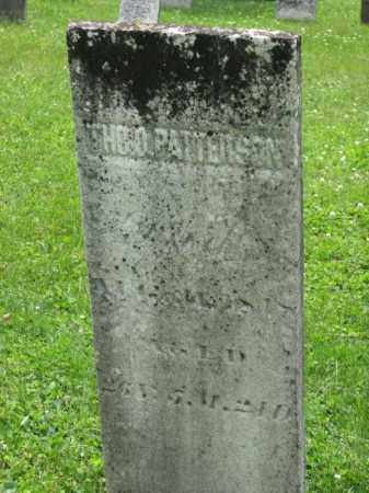 PATTERSON, THOMAS D. - Richland County, Ohio | THOMAS D. PATTERSON - Ohio Gravestone Photos
