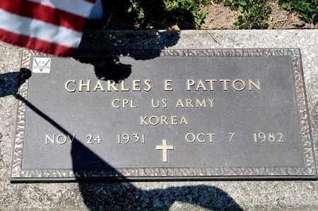 PATTON, CHARLES E - Richland County, Ohio | CHARLES E PATTON - Ohio Gravestone Photos