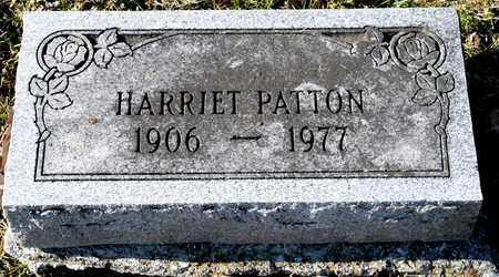 PATTON, HARRIET - Richland County, Ohio | HARRIET PATTON - Ohio Gravestone Photos