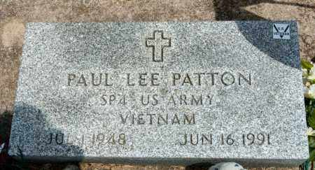 PATTON, PAUL LEE - Richland County, Ohio | PAUL LEE PATTON - Ohio Gravestone Photos