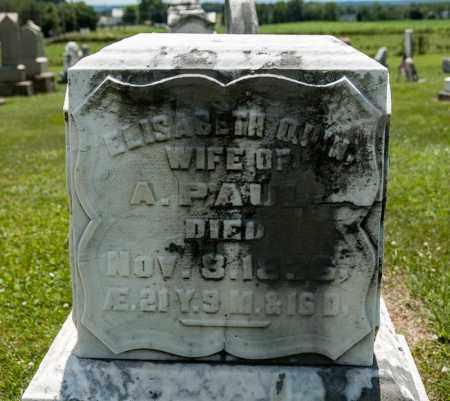 QUINN PAUL, ELISABETH - Richland County, Ohio | ELISABETH QUINN PAUL - Ohio Gravestone Photos