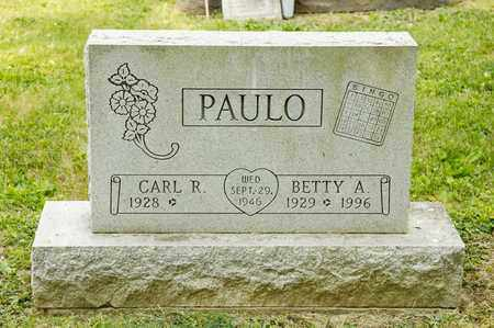 PAULO, BETTY A - Richland County, Ohio | BETTY A PAULO - Ohio Gravestone Photos