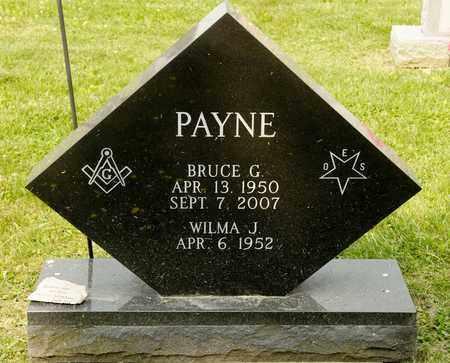 PAYNE, BRUCE G - Richland County, Ohio | BRUCE G PAYNE - Ohio Gravestone Photos