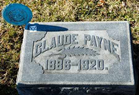 PAYNE, CLAUDE - Richland County, Ohio   CLAUDE PAYNE - Ohio Gravestone Photos