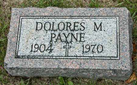 PAYNE, DOLORES M - Richland County, Ohio | DOLORES M PAYNE - Ohio Gravestone Photos